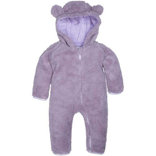 AGUDAN Baby Girl Boy Snowsuit Warm Cotton Fleece Hooded Romper Jumpsuit Outfit Hoody Coat Bodysuit Winter Outerwear