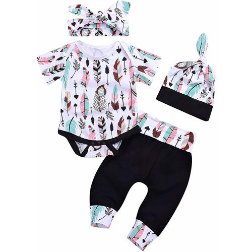 SSZZoo Infant Baby Girls Sleeveless Frill Strap Plaid Sun-Tops+Bowknot Denim Shorts+Headbands Outfits Set