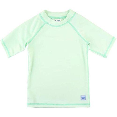 RuggedButts Baby//Toddler Boys Navy Stripe Long Sleeve One Piece Rash Guard 3-6m