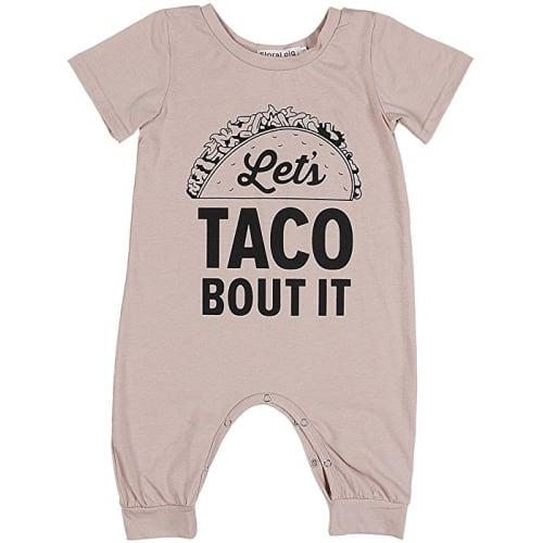 Xturfuo Newborn Baby Girl Romper Bodysuits Cotton Sleeve One-Piece Romper Outfits Clothes