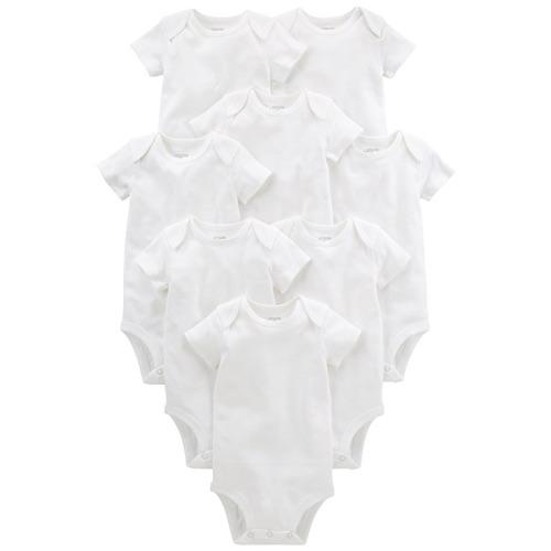 0-1 /& 0-3 Month White Baby Strappy Sleeveless Bodysuit Vest Multi Packs Newborn