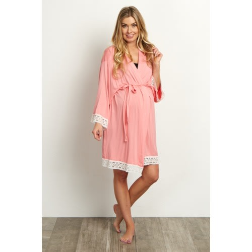 Pink Blush Maternity Robe + $50 Gift Card