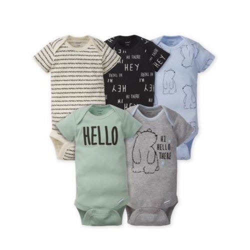 Thin Gold Line 911 Dispatcher Toddler Baby Girls Organic Cotton Short Sleeve Playsuit Outfit Clothes