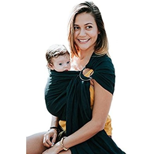 9fcb105e4 Luxury Ring Sling Baby Carrier – Extra Soft Bamboo & Linen Fabric, Full  Support and Comfort for Newborns, Infants & Toddlers - Best Baby Shower  Gift - Great ...
