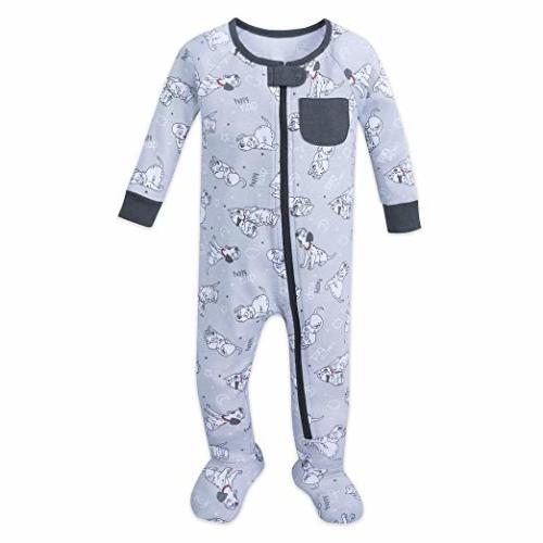 Disney 101 Dalmatians Stretchie Sleeper for Baby Size 3-6 MO Multi