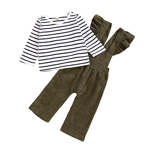 Efaster Toddler Baby Love Heart Letter Tops+Geometric Plaid Pants Outfits Set