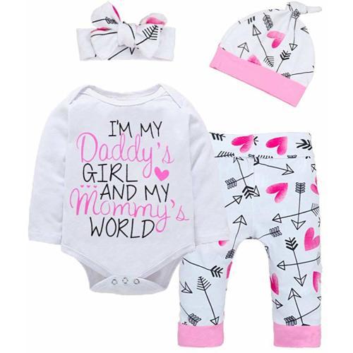 Sizes Newborn 2 Purple Posey Baby Girls Toddler 2pcs Hooded Jumper Pants Set