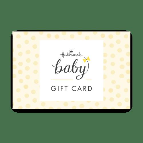 A $2,000 Hallmark Baby Gift Card