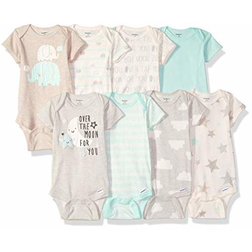 Baby Onesies Geometric Avocado 100/% Cotton Bodysuits Super Power Short Sleeve Bodysuit