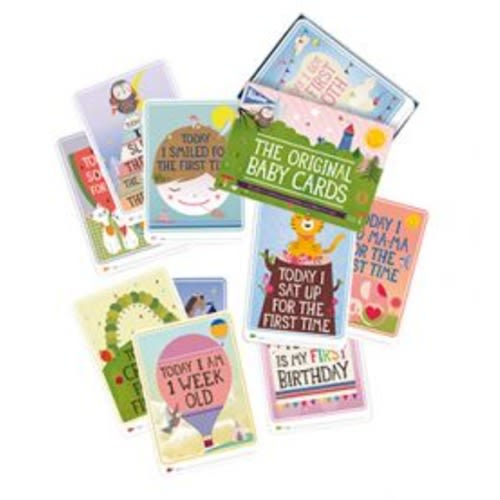 2 Packs of Milestone Baby Cards