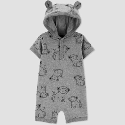 Just One You by Carter/'s Bodysuit Size 9M Baby Monkey