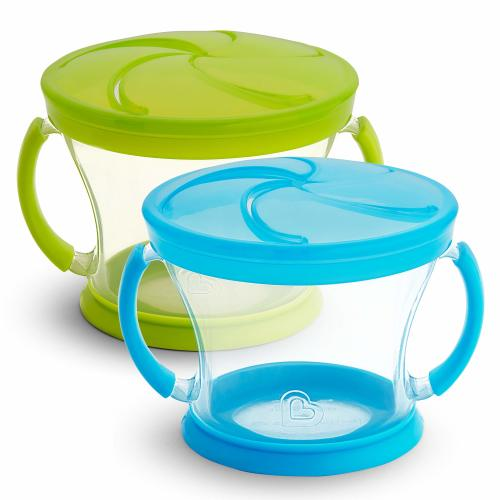 2-Pack Colors Vary Bright Concepts Powder Formula Dispenser and Snack Cup