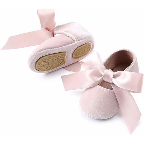 Womola Newborn Hospital Hat Infant Baby Hat Cap With Big Bow Soft Cute Knot Nursery Beanie