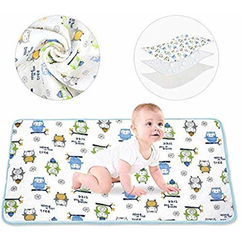 Extra Large Infant Baby Deluxe Ecological Cotton Change Pad Waterproof Baby Diaper Changing Pad