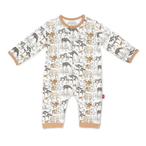 Magnetic Me Ice Cream Modal Magnetic Dress Set and Diaper Cover 2-Piece Set 6-9 Months