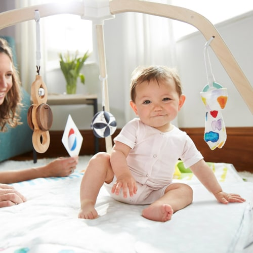 The Baby Gym That Makes Play Time More Fun
