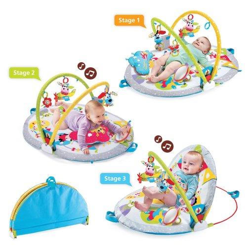 Baby Infant Newborn Toddler Bath Tub Safety Newborn Seat Support Chair with Anti-Slip Suction Cups Grey Zebra 0-6 Months