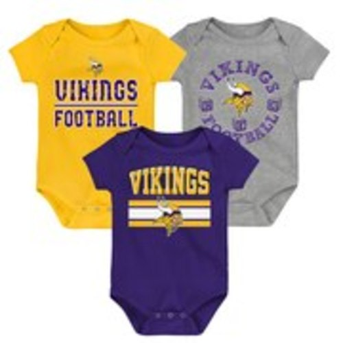 Gold Purple /& White Minnesota Vikings Baby Wipes Case