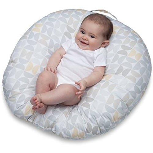 Discreet Snuggle Me Organic Sensory Lounger For Baby In White Baby
