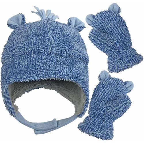 Banana King Thin Blue Line USA Flag Baby Beanie Hat Toddler Winter Warm Knit Woolen Cap for Boys//Girls