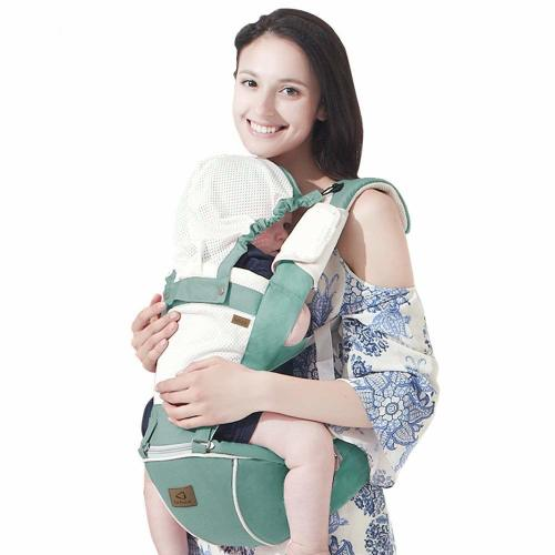 d645dbfb Bebamour New Style Designer Sling and Baby Carrier 2 in 1,Approved by U.S.  Safety Standards,Green