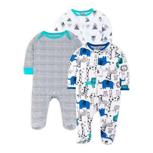 9 Months, Hero Transportation Carters Baby Boys Cotton Zip-Up Sleep N Play