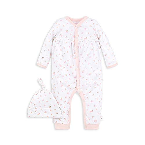 Orange Flower Unisex Solid Baby 100/% Organic Cotton One-Piece Coverall 0-24 Months