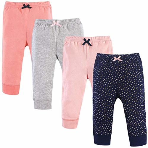 3M Blue//Gray 3-Pack 0-3 Months Luvable Friends Baby and Toddler Unisexs Cotton Pants