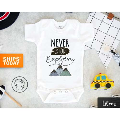 Watercolor Wolf Head Unisex Toddler Baby 2-Piece Short-Sleeve Bodysuit Baby T-Shirt Set