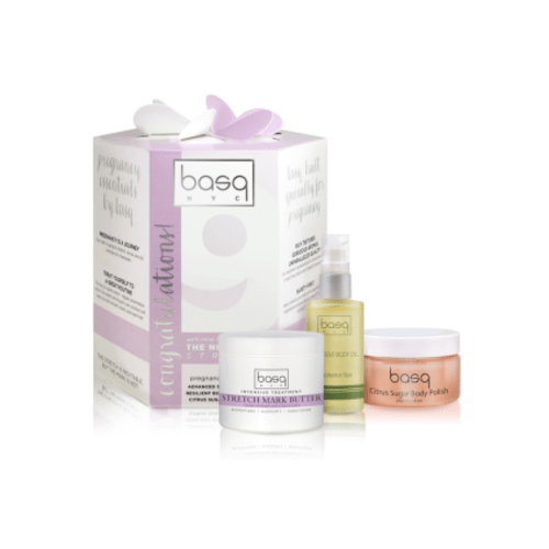 Basq Prevent Stretch Marks Essentials Kit Pregnancy