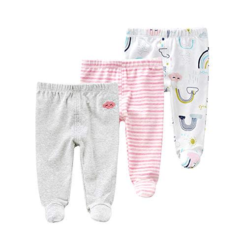 SOBOWO Unisex Funny Baby Cotton Bodysuit Onsies Rib Lap Shoulder Romper Jumpsuit Outfits 0-24 Months