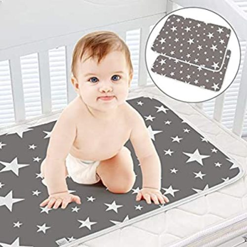Lightweight Changing Pads For Baby Travel Diaper Change Mat Machine Washable Small Changing Pad Portable Diaper Changing Pad Black Geo Baby Changer Waterproof Foldable Baby Changing Mat