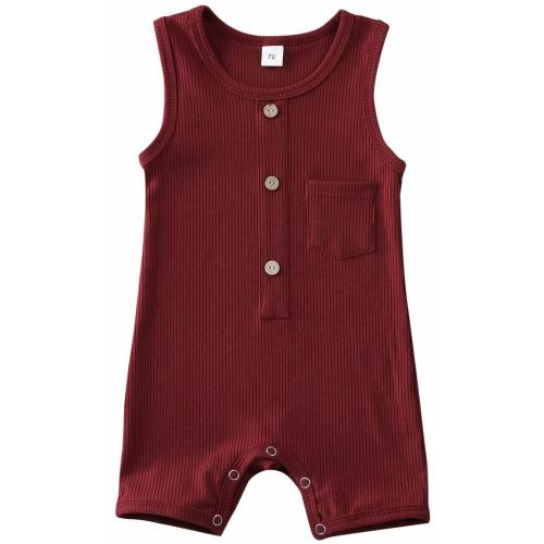 Meipitgy Infant Newborn Baby Boys Girls Romper Bodysuit Jumpsuit Outfits Overalls Clothes 0-24 M