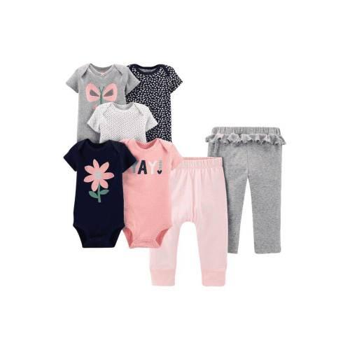 Kitty,Dog /& Nut Bolt Sofie /& Sam Organic Cotton 3 Pack Combo Baby Bodysuit Onesie Romper