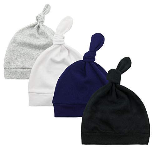 Gacimy Baby Hat Newborn Girls /& Boys Cap Soft Cotton Beanie Cute Knot Bow Turban