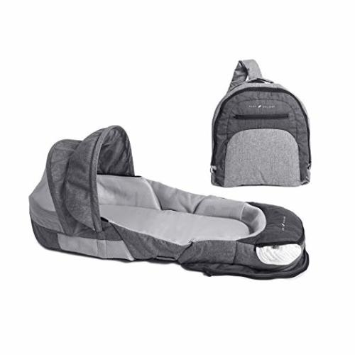 d92be542b Baby Delight Snuggle Nest Adventure Portable Infant Sleeper | Travel Bed &  Bassinet | Canopy and Bug Net Included