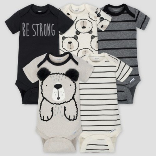 Unisex Baby Short Sleeve Onesies Rock Music Fans Cotton Bodysuit Crew Neck 3-24 Months