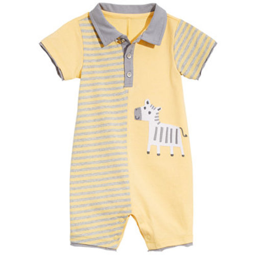 0376a1d61 First Impressions Baby Boys Zebra Cotton Sunsuit, Created for Macy's &  Reviews - All Baby - Kids - Macy's