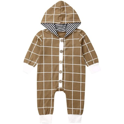 WARMSHOP Newborn Infant Baby Winter Warm Coat Knit Romper Ear Hooded Snowsuit Jumpsuit Bodysuit Overalls for Boys Girls