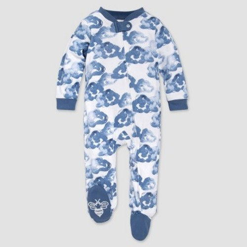 Baby 3 Piece Set Sleepsuit Bib Cradle Cap Blue Whale Boy 3-6 months giftset