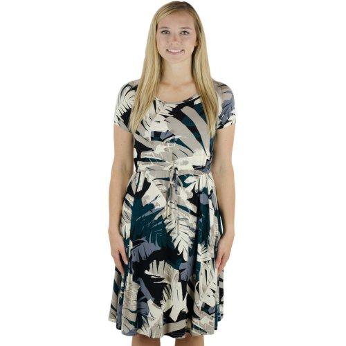 655339ae6b7f3 Latched Mama Drawstring T-Shirt Nursing Dress, Large