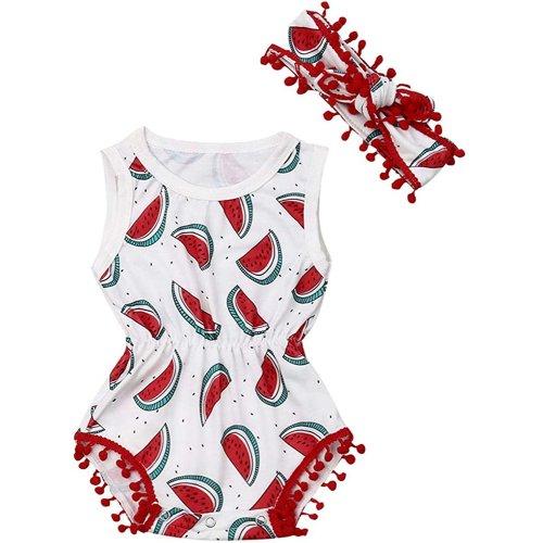 SSZZoo Toddler Infant Newborn Baby Girls Boys Onesies Bodysuit Sleeveless Strap Cartoon Animals Romper
