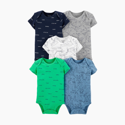 Palm Tree and Tropical Island Baby Boy Newborn Short Sleeve T Shirts 6-24 Month Soft Tops