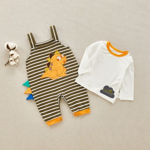 Fasenix Hr Mini Schnauzer Dog Romper Jumpsuit Long Sleeve Bodysuit Overalls Outfits Clothes for Newborn Baby Boy Girl