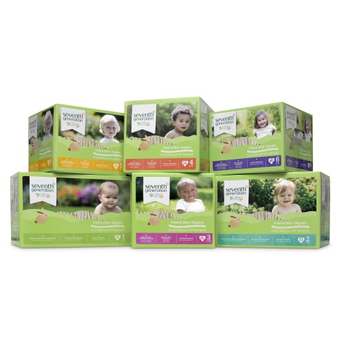 1 Year of Diapers & Wipes from Seventh Generation