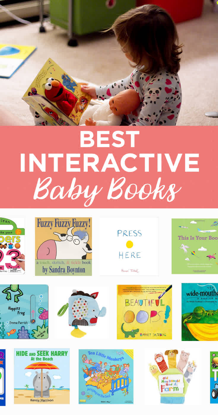 Want to see your baby smile? Test out this great selection of interactive books on your little one.