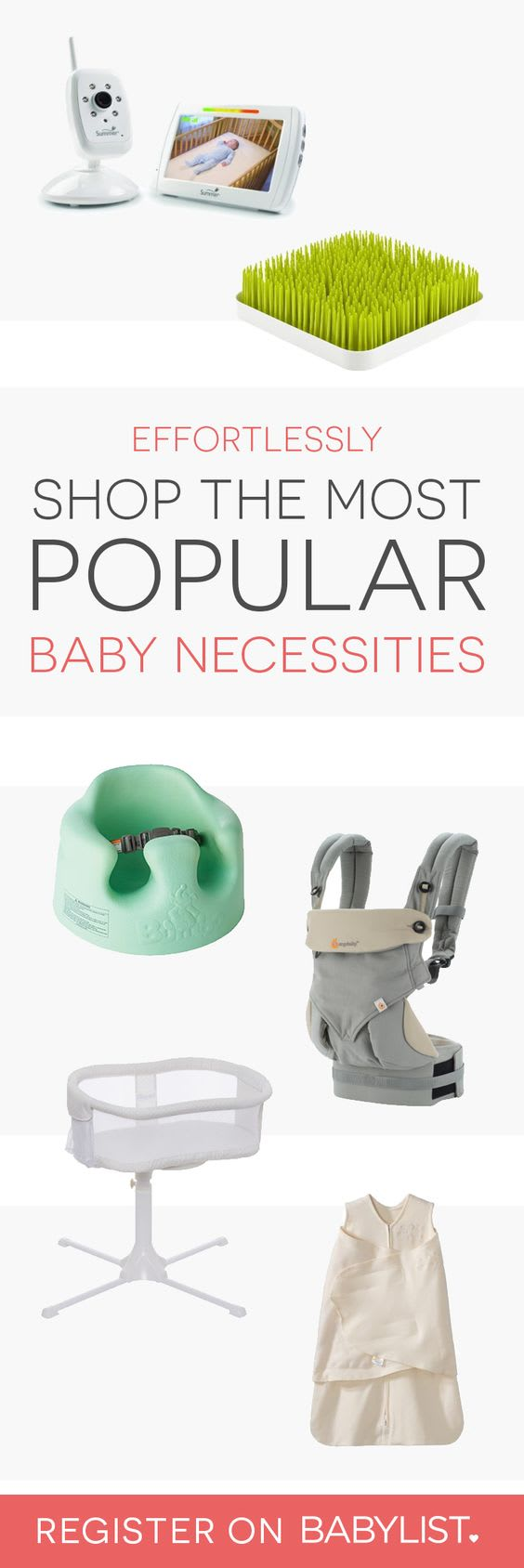 Add anything - like babysitting help, Etsy items, or home cooked meals - to one beautiful baby registry.