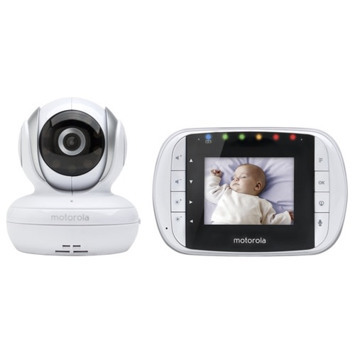 Motorola MBP33S Wireless Video Baby Monitor - $84.99