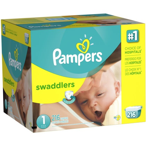 Pampers Swaddlers Diapers - $31.99