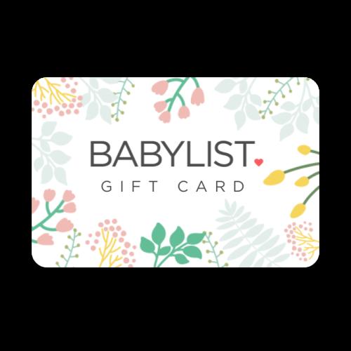 Babylist Gift Card - $0.00